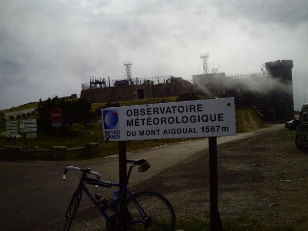 Mont Aigoual From Valleraugue 1567m