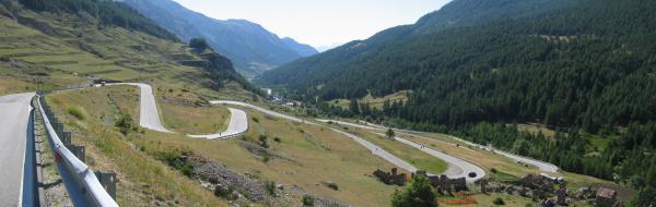 Col de Larche depuis Vinadio : 1991m