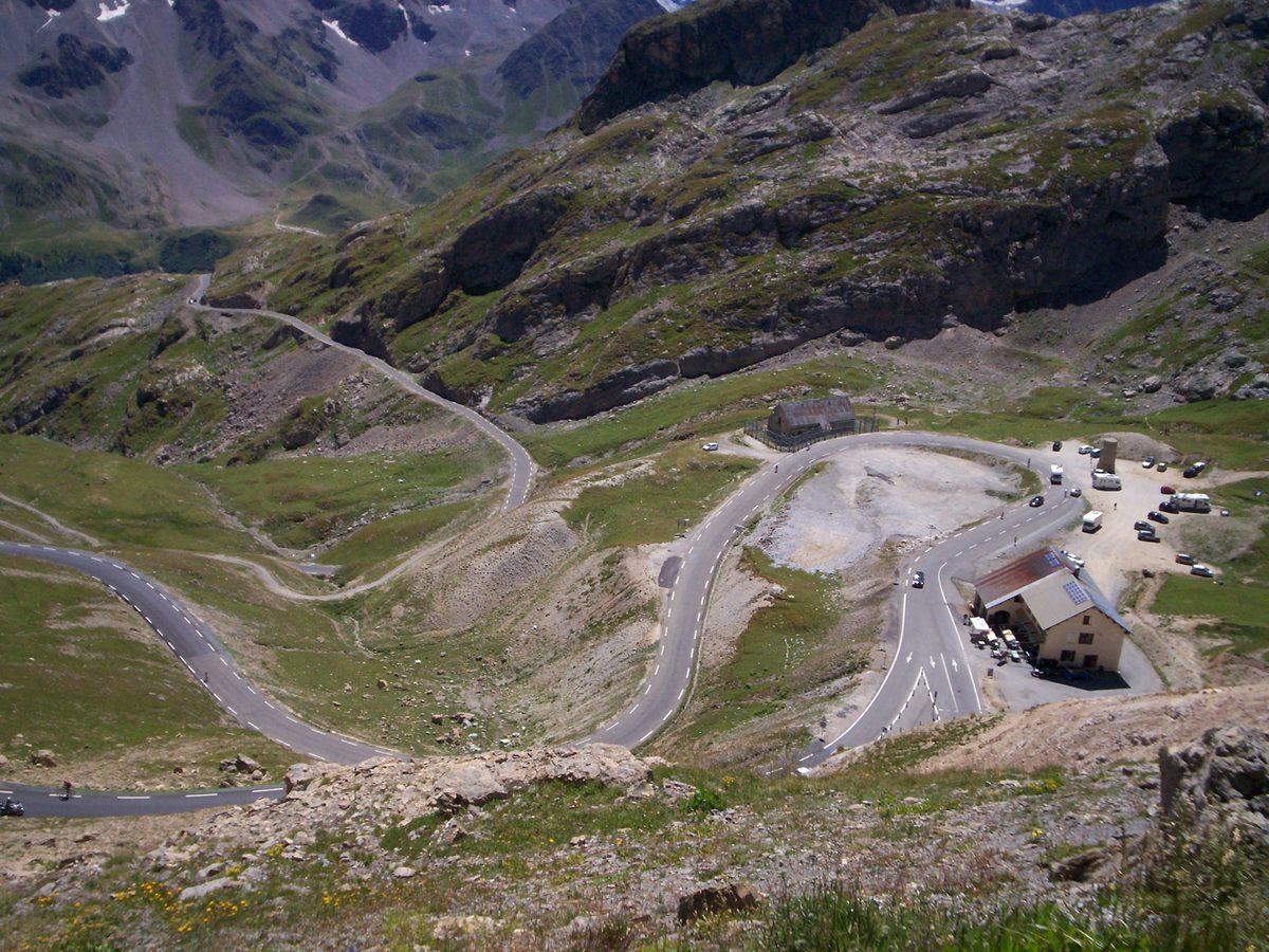 Col du Galibier from Col du Lautaret   2642m 37788b809
