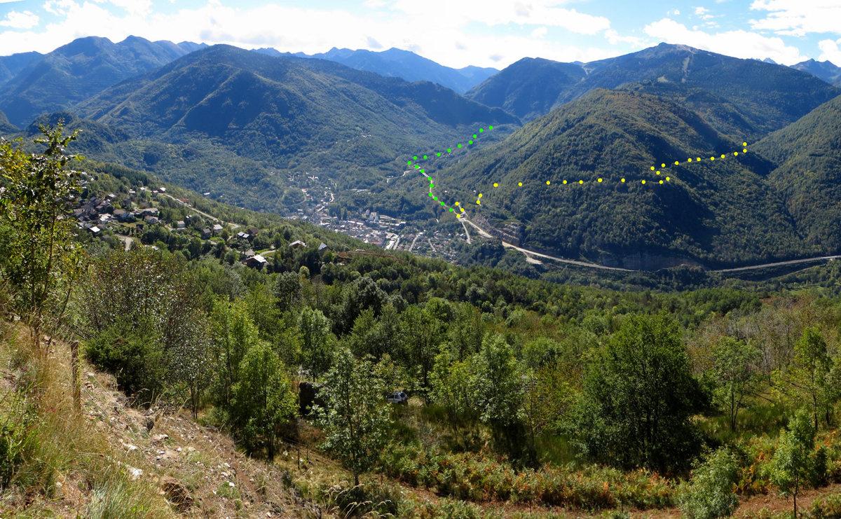 Col du chioula depuis ax les thermes 1431m - Axe les thermes office du tourisme ...