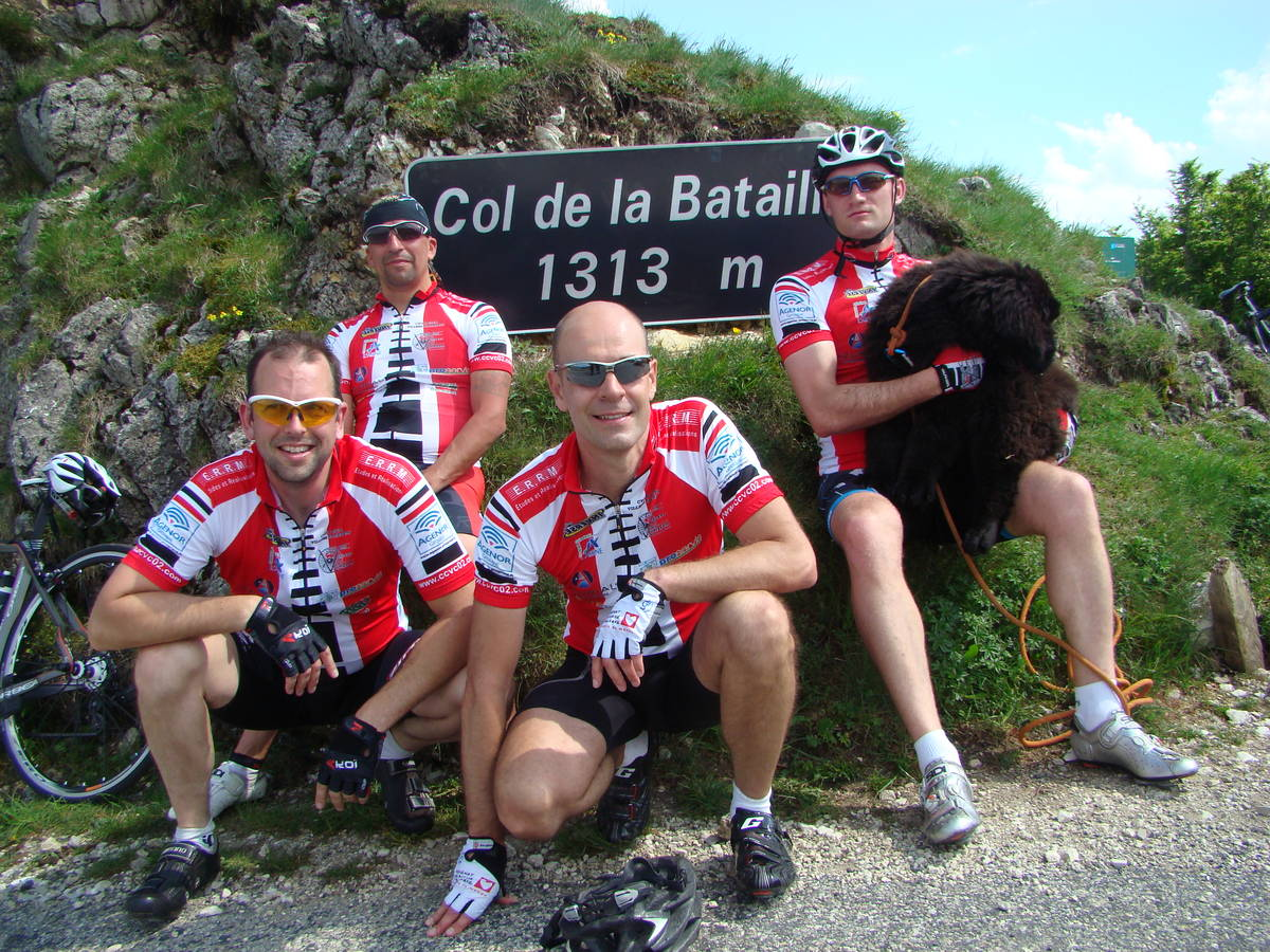 Oriol-en-Royans France  city photos gallery : Col de la Bataille depuis Oriol en Royans : 1313m