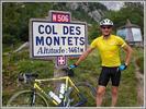 Montée : Col des Montets depuis Chamonix, Commentaire : Le col des Montets est bien fréquenté par les cyclistes. Il y a des informations sur la réserve des Aiguilles Rouges.