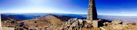 Montée : Pic Neulos depuis Le Perthus, Commentaire : Le pic sommet des Albères