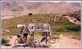 Montée : Col de la Cayolle depuis Saint Martin d'Entraunes, Commentaire : sommet de la Cayolle.