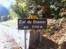Montée : Col du Granier depuis Saint Baldoph
