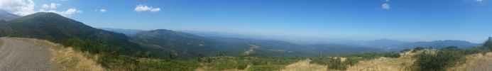 Auteur : Ulysse R, Commentaire : Les environs de la tour batère, en enchainant (vtt) au niveau du  col en grimpant la piste physique qui va au sud
