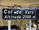 Montée : Col de Vars depuis Les Gleizolles