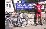 Montée : Col de Turini depuis Sospel, Commentaire : La 16ème photo devant le panneau depuis mai dernier !