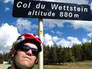 Montée : Col du Wettstein depuis Munster