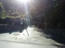 Montée : Col des Champs depuis Colmars, Commentaire : Le pied du col, une petite route cachée à la sortie de Colmars