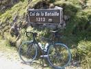 Montée : Col de la Bataille depuis Leoncel, Commentaire : Panneau du col