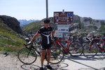 Montée : Colle Fauniera depuis Pradlèves, Commentaire : Bien que son sommet culmine 300 mètres plus bas que celui de la Bonette Restefond, il est à mon avis certainement beaucoup plus dur à escalader !