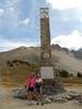 Montée : Col de l'Izoard depuis Briançon, Commentaire : Mon Brompton au col de l'Izoard, par Briançon le 16 août 2012.