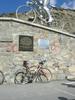 Auteur : Philippe L, Commentaire : il n'est pas beau mon vélo ? et pas peu fière de m'avoir porter si haut