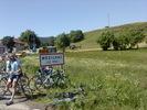 Montée : Col de Mézilhac depuis Le Cheylard, Commentaire : Le col en juin 2012 par un temps superbe (ce qui n'est pas toujours le cas...)