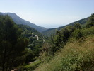 Montée : Col de Castillon depuis Menton, Commentaire : Splendide vue sur la mer une fois au sommet