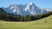 Auteur : Loic L, Commentaire : photo prise dans la descente sur La Thuile. Peu après le sommet (1 km à droite).  FABULEUX