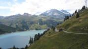 Auteur : Loic L, Commentaire : photo depuis la route du lac de Sassière