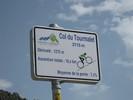 Montée : Col du Tourmalet depuis Luz Saint Sauveur, Commentaire : La pancarte !