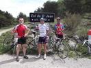 Montée : Col Saint Jean depuis Laborel, Commentaire : Montée du 12/05/2012 avec les 'Tontons Flingueurs' d'Orange...