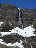 Montée : Col du Somport depuis Accous, Commentaire : Dans la montée en arrivant pas loin du sommet sur la gauche de la route, superbe cascade