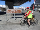 Montée : Col du Somport depuis Accous, Commentaire : Après une heure d'effort, l'ancien poste frontière