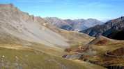 Auteur : Loic L, Commentaire : A hauteur de Bersezio, il y a une route sur la gauche vers le village de Ferrières... Qques kms de bitume... puis une piste qui offre des paysages juste SUBLIMES.