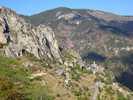 Author : Loic L, Comment : Roubion, situé à 5 kms du sommet