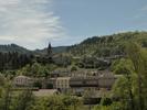 Montée : Nozières (Le Tracol) depuis Lamastre, Commentaire : Vue que l'on a dans les 1er hectomètres du quartier de Macheville (Le vieux Lamastre).