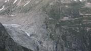 Auteur : Loic L, Commentaire : vue sur le glacier du Rhône  ( versant Realp)