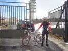 Montée : Pierre sur Haute depuis Col du Béal, Commentaire : Pierre sur Haute(1634m),arrivée au portail du relai