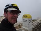 Montée : Mont Ventoux depuis Malaucene, Commentaire : 100-150 km/h de vent, 4 degrés à l'abri ... le tous un 1er Juin 2013 ...