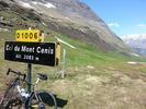 Montée : Col du Mont Cenis depuis Lanslebourg, Commentaire : Au sommet