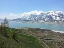 Montée : Col du Mont Cenis depuis Lanslebourg, Commentaire : Lac au sommet