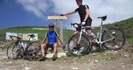Montée : Authion depuis L'Escarene, Commentaire : Premier passage de l'année 2013 au sommet de l'Authion