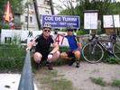 Montée : Col de Turini depuis D 2565, Commentaire : C'est la 5ème fois en 2013 qu'on pose devant le panneau, avec 2 grimpées par la Bollène, 2 par Moulinet avec 1 passage à l'Authion,et une par le col St Roch, le plus intéressant c'est le circuit qui passe par la Bollène vésubie.