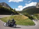 Montée : Passo Pordoi depuis Arabba, Commentaire : Ah ! Ces motos !