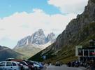 Montée : Passo Pordoi depuis Arabba, Commentaire : Autre vue depuis le Passo Pordoï