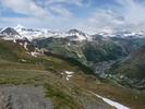 Auteur : Benoît G, Commentaire : La station de Val d'Isère et le Pic de la Grande Motte