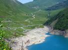 Auteur : Henri S, Reactie : Du barrage de Grand'Maison. A gauche le col du Glandon.