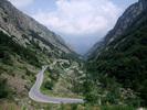 Montée : Col de la Lombarde depuis Pratolungo, Commentaire : Très peu de répits avant le 10ème Km du col
