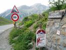 Auteur : Jean J, Commentaire : Sympa le panneau 10% au sommet du Col qui indique la pente sur le dernier Km