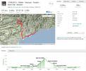 Montée : Mont Vial depuis Vescous, Commentaire : Plus de 175Km et 2400m de dénivelé une vraie ballade à vélo.