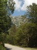 Author : Greg R, Comment : Vue sur la collade des roques blanches en montant depuis la Preste