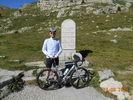 Montée : Col de la Cayolle depuis Saint Martin d'Entraunes, Commentaire : Frisquet le sommet du col même en ce mois d'aout 2013