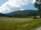 Montée : Colle Saint Michel depuis Annot, Commentaire : Le plateau au sommet. Ce sont des pistes de ski de fond en hiver.