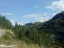 Montée : Colle Saint Michel depuis Annot, Commentaire : Méailles. Un superbe village en bord de falaises