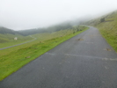 Montée : Hourquette d'Ancizan depuis Campan, Commentaire : Le brouillard tombe ... juste après la grande ferme...