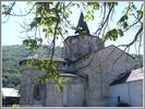 Montée : Col des Bordères depuis Argeles Gazost (via Aucun), Commentaire : L'abbatiale Romane de St Savin