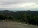 Montée : Col Sainte Marguerite depuis Saint Michel de Llotes, Commentaire : Vue sur la plaine du Roussillon, la montée est moitié ombragée, moitié dégagée.
